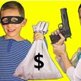 "Escape Room Kinder & Erwachsene ""Bankräuber"" 120/60 Minuten ab 7 Jahre"